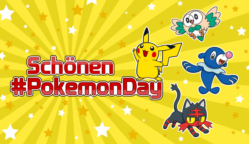 Viel Spaß am Pokémon Day!