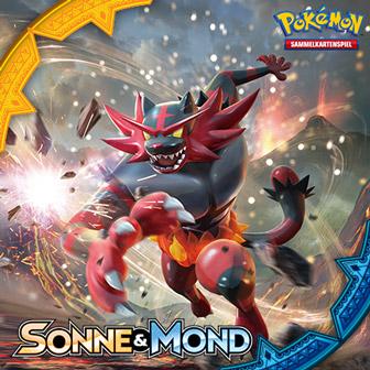 Erstrahle schon heute in neuem Glanz mit der Pokémon-Sammelkartenspiel-Erweiterung Sonne & Mond!
