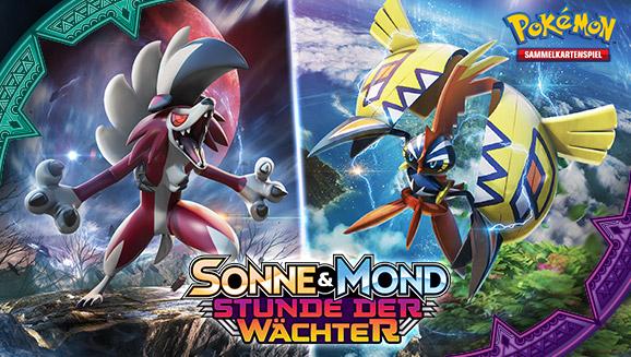Die Inselwächter stehen kampfbereit im Pokémon-Sammelkartenspiel!
