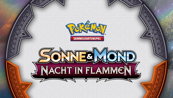 Infos zu den Vorveröffentlichungs-<br />turnieren der Pokémon-Sammelkartenspiel-Erweiterung <em>Sonne & Mond – Nacht in Flammen</em>