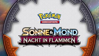 Infos zu den Vorveröffentlichungsturnieren der Pokémon-Sammelkartenspiel-Erweiterung Sonne & Mond – Nacht in Flammen