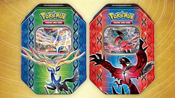 """Tin-Box """"Legenden der Kalos-Region"""" des Pokémon Sammelkartenspiels"""
