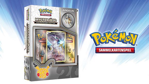 """""""Mysteriöse Pokémon-Kollektion: Arceus"""" des Pokémon-Sammelkartenspiels"""