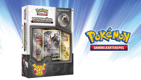 """Mysteriöse Pokémon-Kollektion: Darkrai"" des Pokémon Sammelkartenspiels"