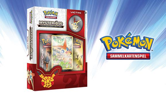 """""""Mysteriöse Pokémon-Kollektion: Victini"""" des Pokémon Sammelkartenspiels"""