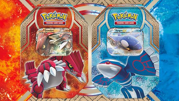 "Tin-Box ""Hoenn-Legenden"" des Pokémon Sammelkartenspiels"