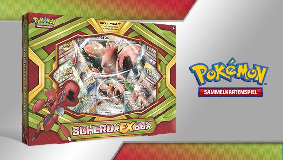 Scherox-<em>EX</em>-Box des Pokémon-Sammelkartenspiels