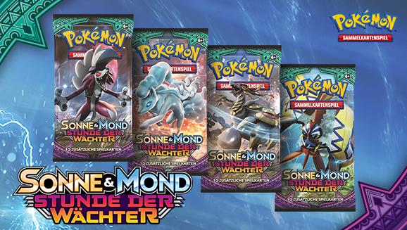 Pokémon-Sammelkartenspiel-Erweiterung <em>Sonne & Mond – Stunde der Wächter</em>