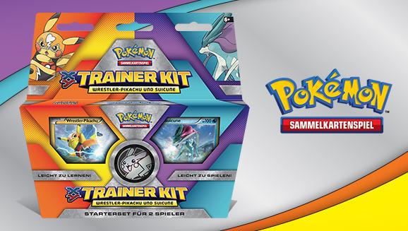 Pokémon Sammelkartenspiel: Trainer Kit <em>XY</em>: Wrestler-Pikachu und Suicune