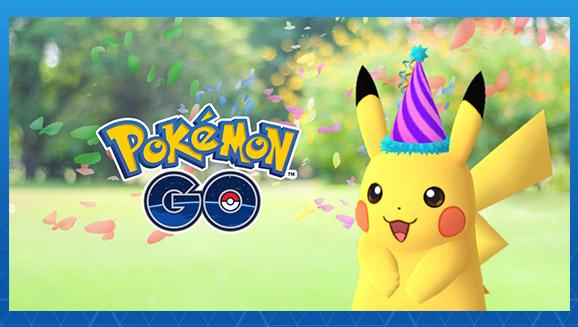 Pikachu feiert in <em>Pokémon GO</em>!