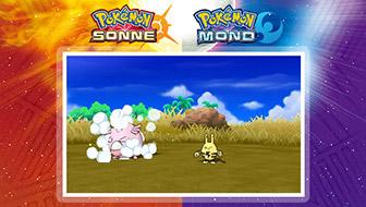 In Quereinsteiger-Kämpfen eilen dem Gegner besondere Pokémon zu Hilfe