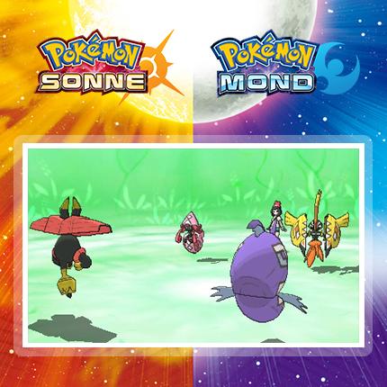 Veränderungen des Kampffeldes durch Kapu-Pokémon