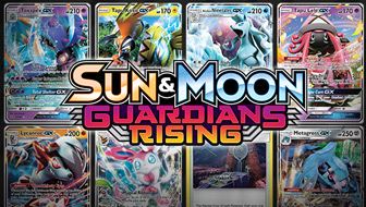 Browse the Cards of Sun & Moon—Guardians Rising!