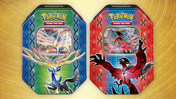 Pokémon TCG: Legends of Kalos Tin