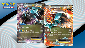 Black Kyurem and White Kyurem Clash in the Pokémon TCG