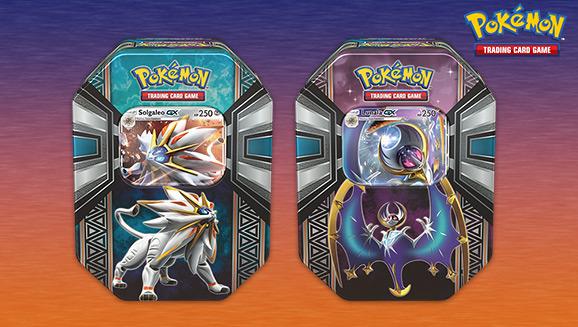 Pokémon TCG: Legends of Alola Tin