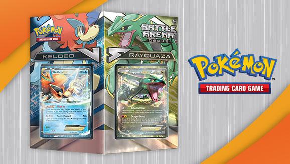 Pokémon TCG Battle Arena Decks: Rayquaza vs. Keldeo