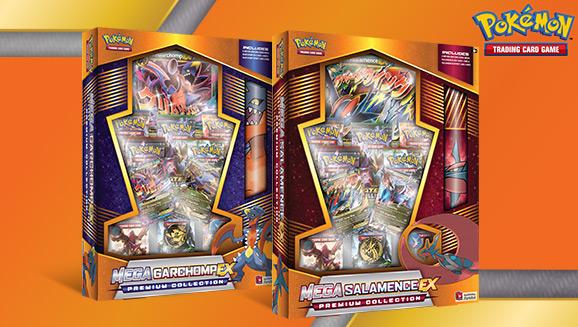 Pokémon TCG: Mega Garchomp-<em>EX</em> and Mega Salamence-<em>EX</em> Premium Collections
