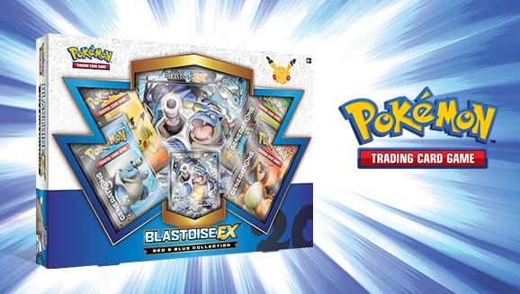 Pokémon TCG: Red & Blue Collection—Blastoise-<em>EX</em>