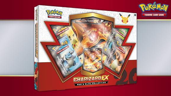 Pokémon TCG: Red & Blue Collection—Charizard-<em>EX</em>