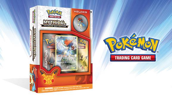 Pokémon TCG: Mythical Pokémon Collection—Keldeo