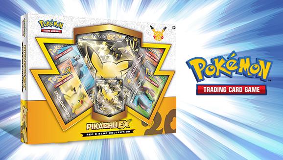 Pokémon TCG: Red & Blue Collection–Pikachu-<em>EX</em>