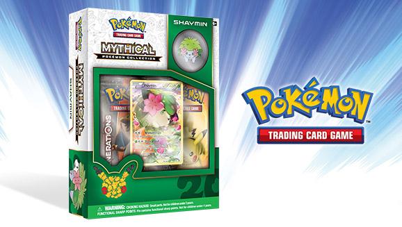 Pokémon TCG: Mythical Pokémon Collection—Shaymin