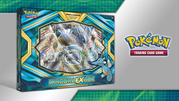 Pokémon TCG: Kingdra-<em>EX</em> Box