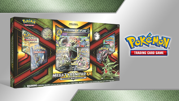 Pokémon TCG: Mega Tyranitar-<em>EX</em> Premium Collection