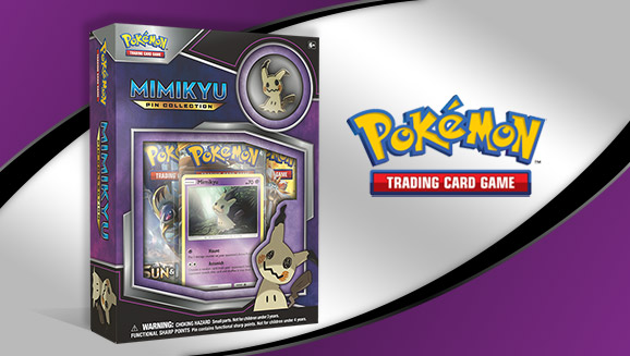 Pokémon TCG: Mimikyu Pin Collection