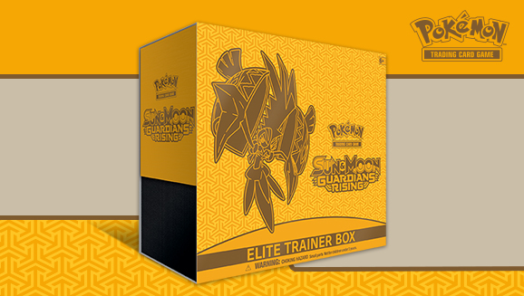 Pokémon TCG: <em>Sun & Moon—Guardians Rising</em> Elite Trainer Box