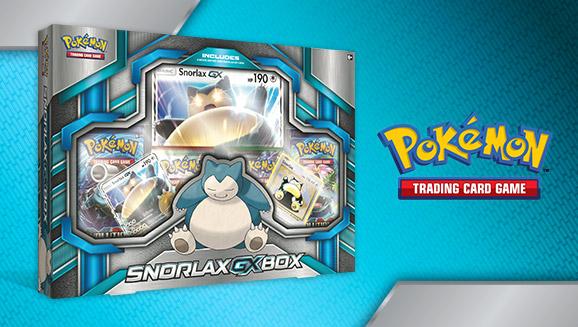 Pokémon TCG: Snorlax-<em>GX</em> Box
