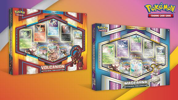 Pokémon TCG: Volcanion and Magearna Mythical Collections