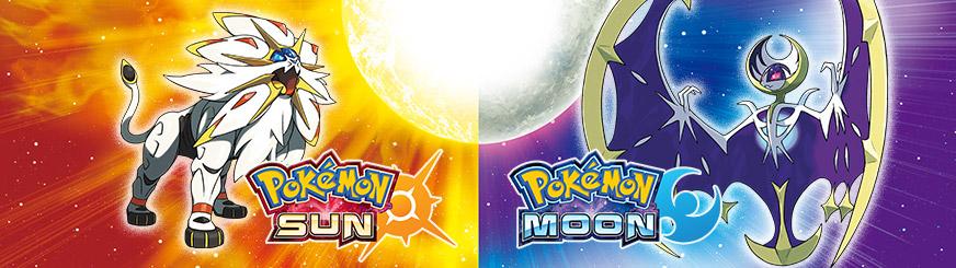 Pokémon Sun and Pokémon Moon