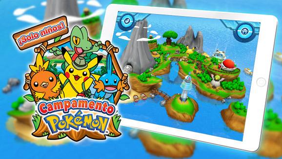 ¡Te damos la bienvenida al Campamento Pokémon!