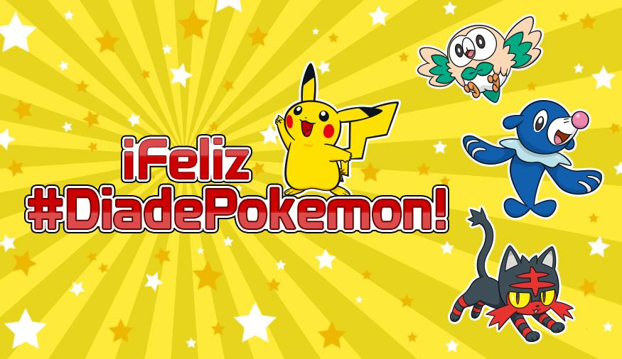 Celebra el Día de Pokémon