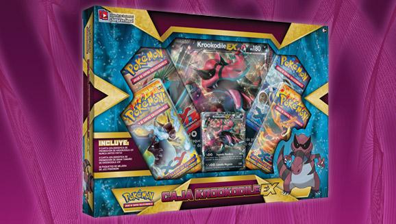 Caja Krookodile-<em>EX</em> de JCC Pokémon
