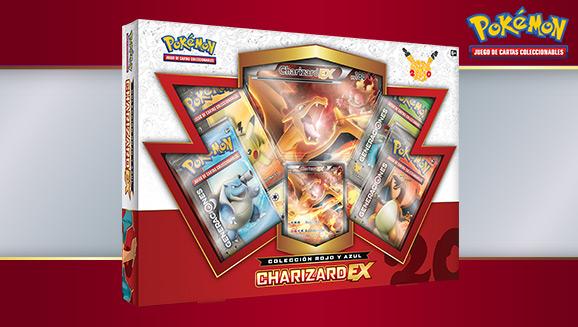 Colección Rojo y Azul: Charizard-<em>EX</em> de JCC Pokémon