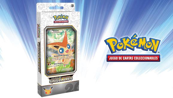 Colección Pokémon Singulares-Victini de JCC Pokémon