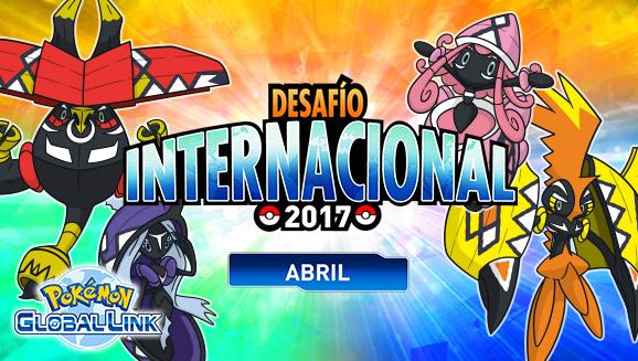 ¡Apúntate ahora para el Desafío Internacional de abril de 2017!