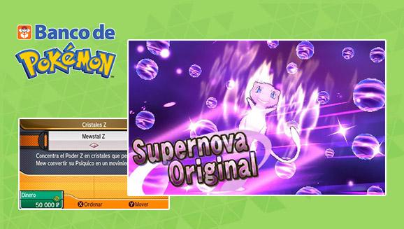 Un objeto especial para los usuarios del <em>Banco de Pokémon</em>