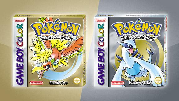 ¡<em>Pokémon Edición Oro</em> y <em>Pokémon Edición Plata</em> vuelven para la consola virtual!