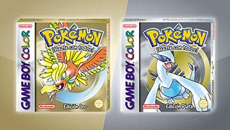 ¡Pokémon Edición Oro y Pokémon Edición Plata vuelven para la consola virtual!