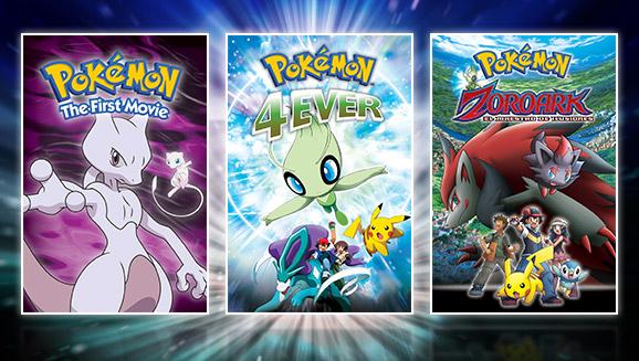 ¡Celebra el Día de Pokémon con un trío de películas en TV Pokémon!