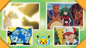 La pandilla se dirige a Johto en TV Pokémon