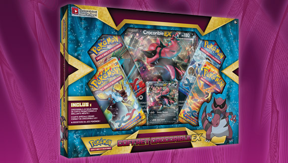 JCC Pokémon : Coffret Crocorible-<em>EX</em>