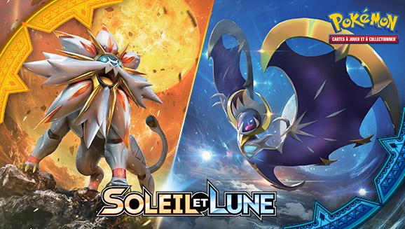 Brillez fort avec l'extension <em>Soleil et Lune</em> du JCC Pokémon