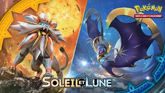 Brillez fort avec l'extension Soleil et Lune du JCC Pokémon