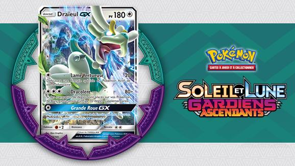 Cartes à l'affiche de l'extension <em>Soleil et Lune – Gardiens Ascendants</em>