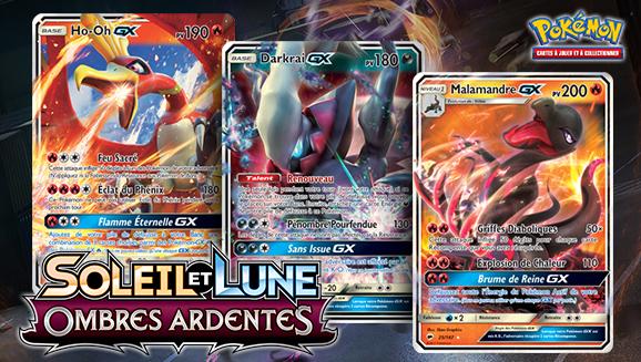 Trois Pokémon-<em>GX</em> sortent de l'ombre
